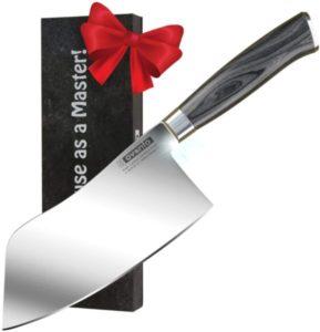 Cuchillo de carnicero chino de acero alemán de alto carbono