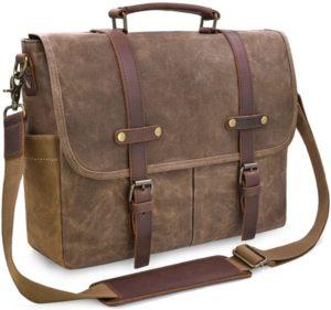 maletíns de piel para portátil Newhey Man