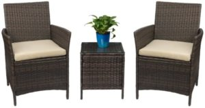 Juegos de muebles de porche de patio Devoko