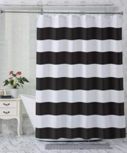 Cortina de ducha de tela AmazerBath