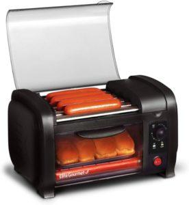 Horno tostador para perros calientes