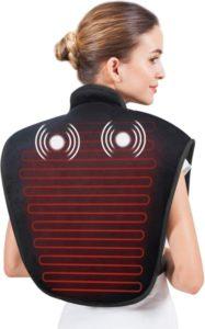 Almohadilla térmica para cuello y hombros