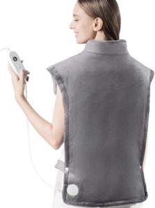 Almohadilla térmica iTeknic para aliviar el dolor de espalda
