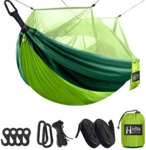 Hamaca de camping Hieha con mosquitera