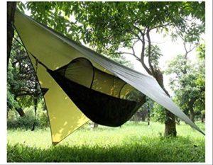 Hamaca de camping Gastonia con tienda de campaña con mosquitera