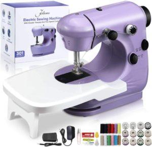 Mini máquina de coser eléctrica Jeteven