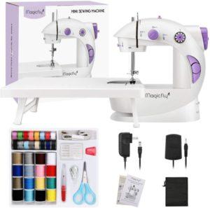 Mini máquina de coser Magicfly para principiantes