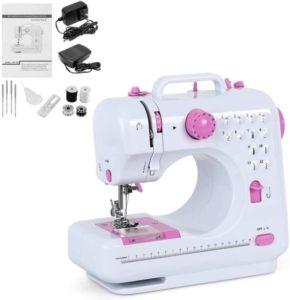 Mini máquina de coser eléctrica