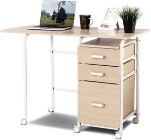 mesa plegable Tangkula para ordenador