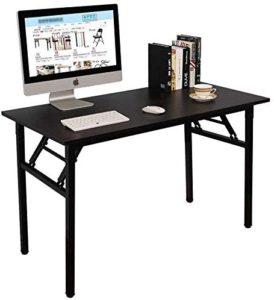 Mesa plegable mesa para computadora, no requiere ensamblaje