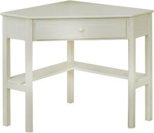 escritorio corder blanco con almacenamiento