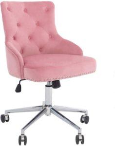 Silla de oficina en casa de muebles con respaldo alto