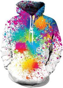 Sudaderas con efecto tie dye para hombre