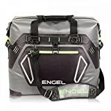 ENGEL ENGTPU-Green HD30 Bolsa refrigeradora impermeable de lados suaves - Gris / Verde, Verde y Gris, 30 cuartos