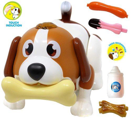 JOYIN Electronic Pet Dog, Puppy Robot Dog Toy, Inducción táctil