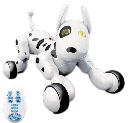 Cachorro robot interactivo inalámbrico de alta tecnología