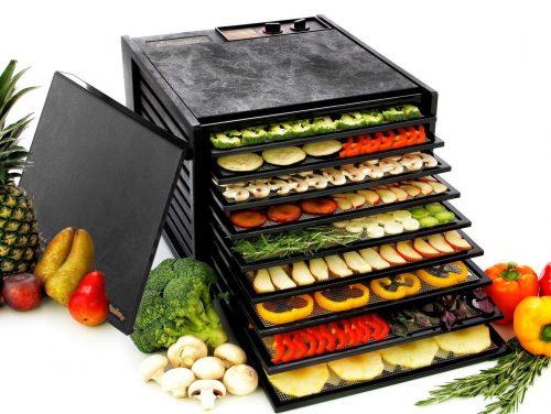 Deshidratador de alimentos eléctrico de 9 bandejas Excalibur 3900B