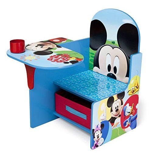 Escritorio con silla para niños Delta con contenedor