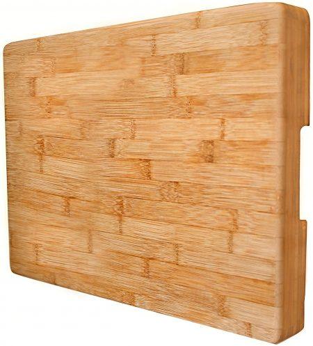 Tabla de cortar de bambú EXTRA GRANde Neet - Grueso, pesado y sólido
