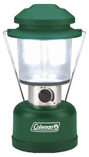 Linterna LED Coleman Twin, verde