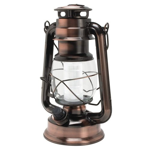 Linterna de cobre estilo huracán Northpoint Vintage Style