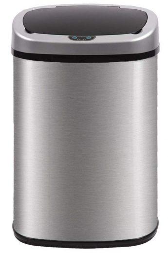 papelera automático para cocina BestOffice Acero inoxidable cepillado