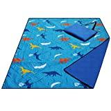 Gran manta de playa impermeable a prueba de arena, manta de picnic lavable a máquina, tapete para el suelo / jardín, tapete para acampar al aire libre plegable para niños