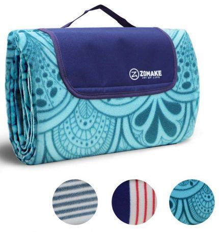 Manta de picnic impermeable ZOMAKE extragrande, manta para exteriores