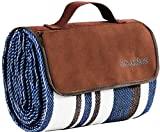 Enchufe de picnic y exterior de doble capa adicional para el verano Alfombrilla de mano para tiro resistente al agua
