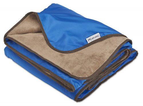 Outdoor Stadium XL Plush Fleece Manta de picnic impermeable e impermeable al aire libre - Manta de campamento