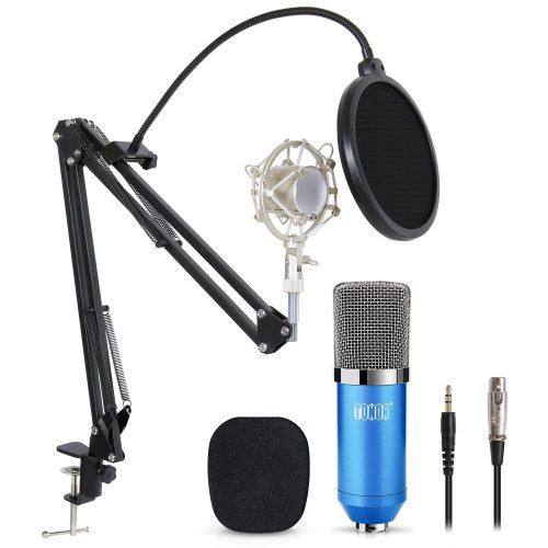TONOR Professional Studio Micrófono de condensador PC Equipo de micrófono para ordenador