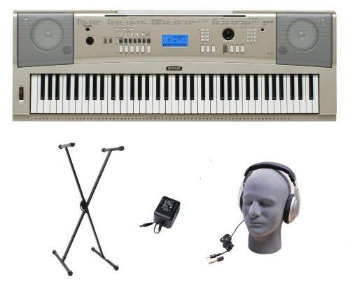 Paquete premium de piano de cola portátil de 76 teclas Yamaha YPG-235