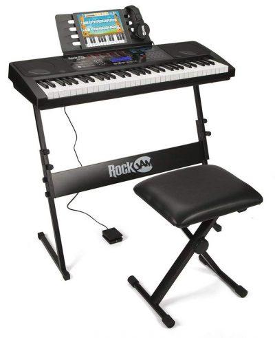 RockJam RJ761-SK Tutorial electrónico interactivo Teclado de piano con teclado de piano de Internet