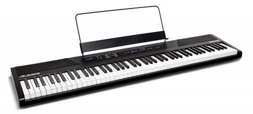 Alesis Imitación - Piano digital / Teclado-Teclado electrónico para principiantes 88 teclas