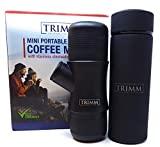 Termo Máquina de café expreso portátil con aislamiento al vacío y termo de doble pared Espresso portátil y matraz Cafetera de una taza y termo para té Gran idea de regalo de viaje