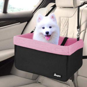 asiento de coche para perro
