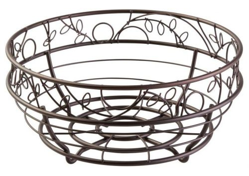 Frutero InterDesign Twigz - Cesta de frutas de alambre para mesas de cocina
