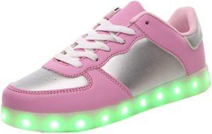 zapatillas para iluminar