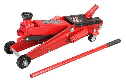 Gato de piso con carro hidráulico rojo Torin grande: SUV / Altura extendida