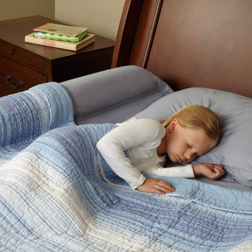 hiccapop bed rail bumper / foam safety guard for bed