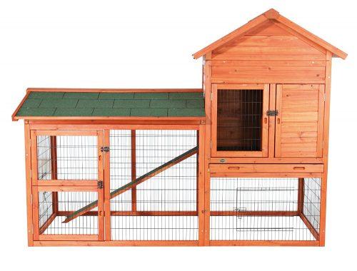 TRIXIE Rabbit Hutch Productos para mascotas con recorrido al aire libre