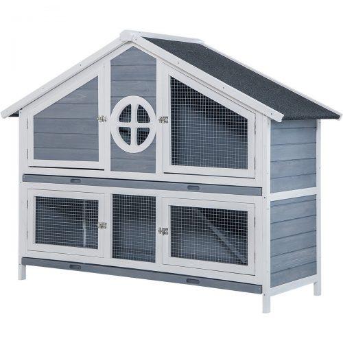 Jaula Conejo Casa de madera Purlove Conejo para animales pequeños