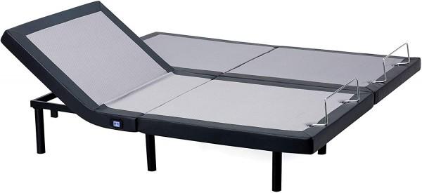 Base de cama articulada HOFISH 2S - Base de cama articulada Twin XL Ensamblaje de un solo paso con camas Twin Twin inalámbricas articuladas