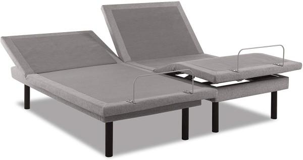 TEMPUR-Ergo Plus-Camas articuladas gemelas articuladas grises