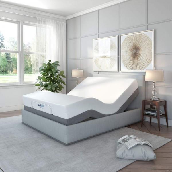 Base de cama articulada Comfort articulada de Classic Brands con masaje