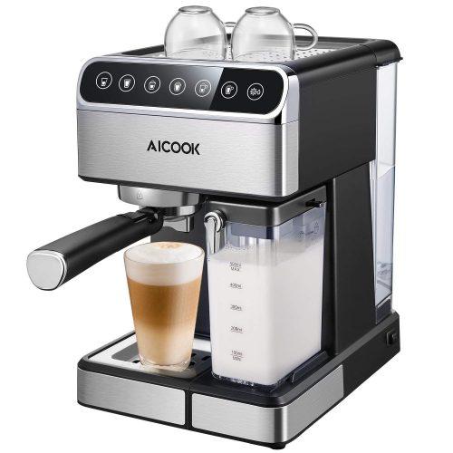 Máquina de café expreso AICOOK, cafetera expreso Barista