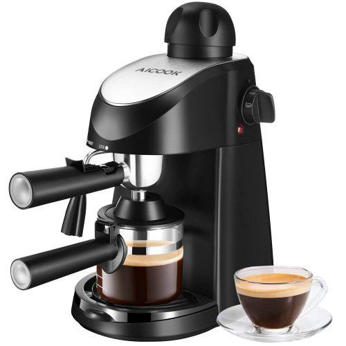 Máquina de café exprés, cafetera Aicook de 3,5 bar Espresso