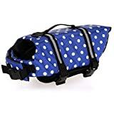 HAOCOO Jacket Life Dog Vest Saver Traje de baño de seguridad Traje de baño con tiras reflectantes / Cinturón ajustable para perro