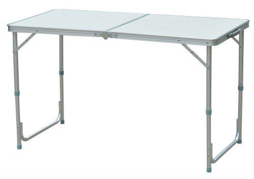 Mesa de campamento plegable de aluminio Outsunny