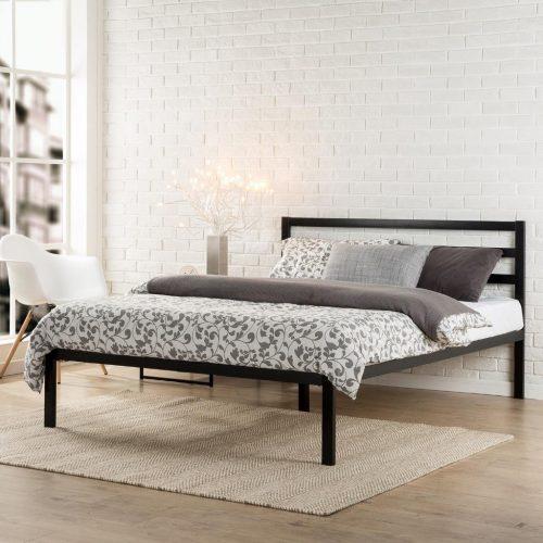 Zinus Modern Studio 14 Estructura de cama de metal con bisagras de plataforma 1500H
